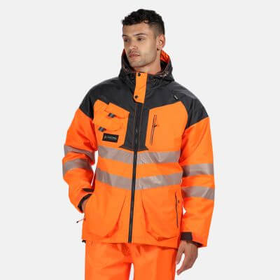 High Visibility TT Parka Jacket