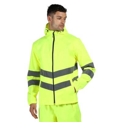 High Visibility Pro Packaway Jacket