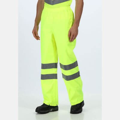 High Visibility Pro Packaway Trouser