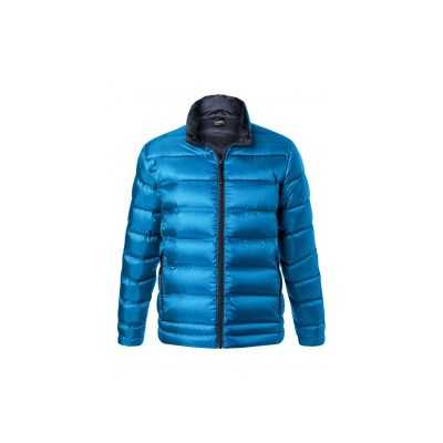 Якета и елеци, James&Nicholson JN1150 Men's Down Jacket Blue