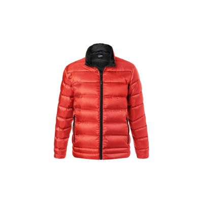 Якета и елеци, James&Nicholson JN1150 Men's Down Jacket Flame