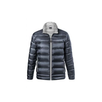 Якета и елеци, James&Nicholson JN1150 Men's Down Jacket Navy