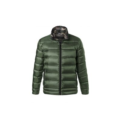 Якета и елеци, James&Nicholson JN1150 Men's Down Jacket Olive