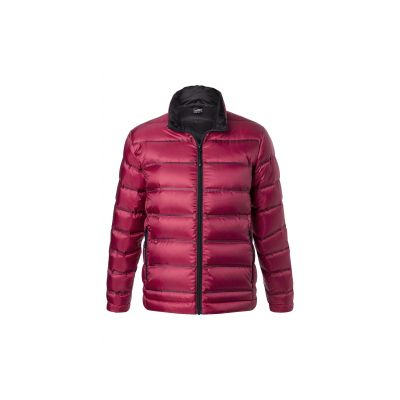 Якета и елеци, James&Nicholson JN1150 Men's Down Jacket Red