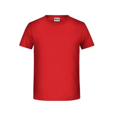 Boys' Basic-T RED-XS