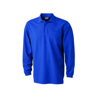 Polo Pique Long-Sleeved