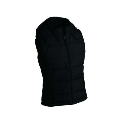 Якета и елеци, James&Nicholson JN1004 Men's Padded Vest Black
