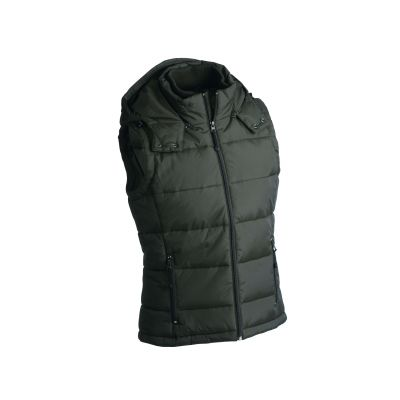 Якета и елеци, James&Nicholson JN1004 Men's Padded Vest Mud