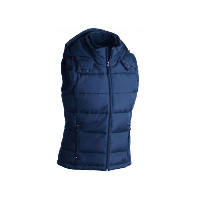 Якета и елеци, James&Nicholson JN1004 Men's Padded Vest Navy