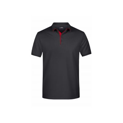 Men's Polo Single Stripe