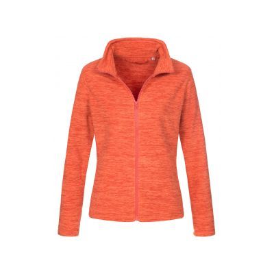 ST5140 Active Melange Fleece Jacket