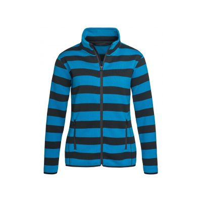 ST5190 Active Striped Fleece Jacket