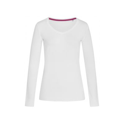 ST9720 Claire V-neck Long Sleeve T-shirt